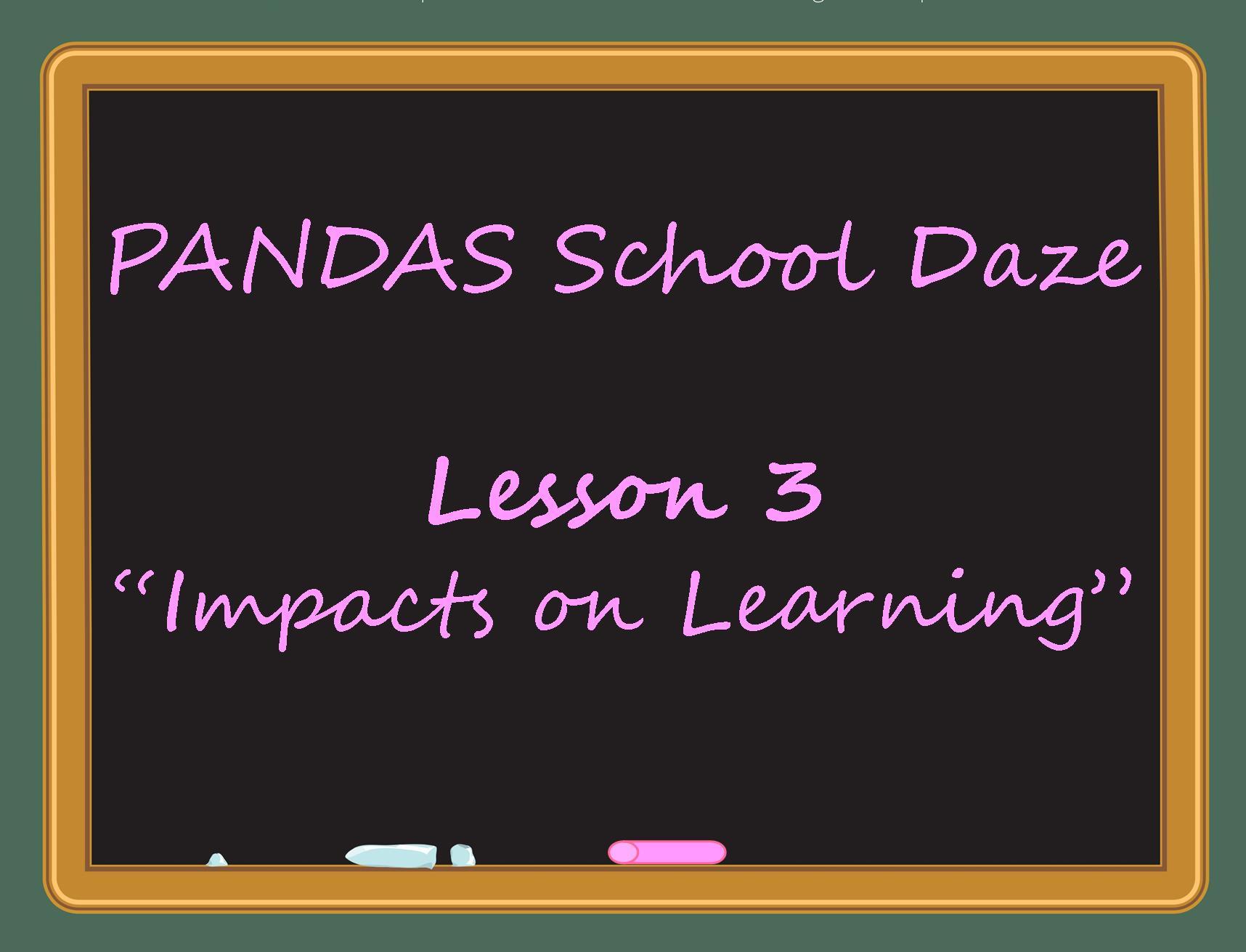 Pandas School Daze Pandas Pans And School Can Leave You Dazed