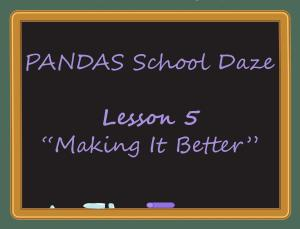 Lesson 5 School Daze